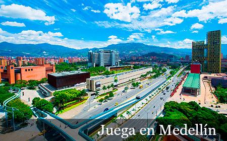 Juega en Medellín