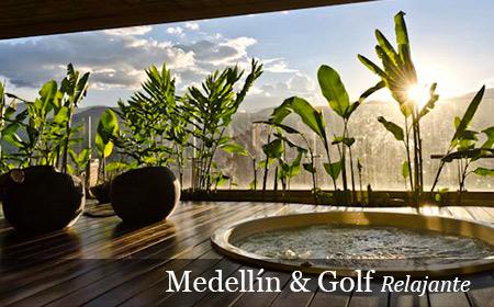 Medellín & Golf Relajante