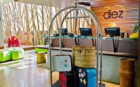 Diez Hotel - Hotel Oficial de los Golfistas en Medellín