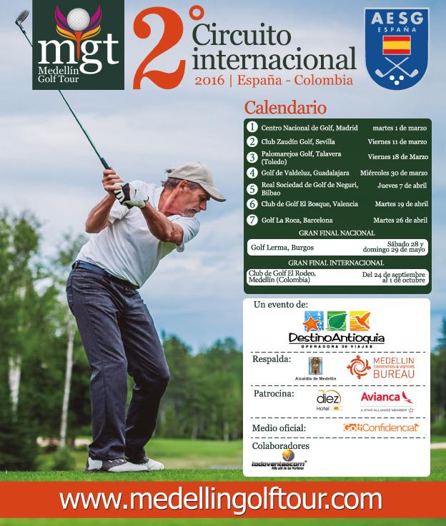Lanzamiento Medellín Golf Tour 2016